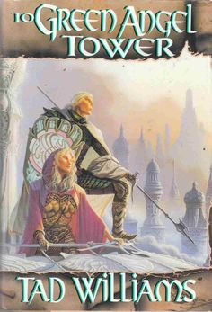 To Green Angel Tower by Tad Williams. Loved it so much I took it to China with me.