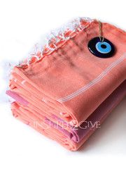 Salmon Turkish Towel Inspired2Give - NEW!