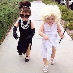 Marylin Monroe and Tiffany Hepburn