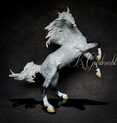 Drastic Custom Model Horse Resin Breyer Peter Stone Dapple Grey