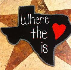 Made from steel and painted... Texas is home.