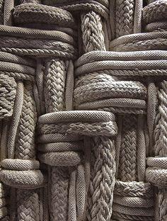 // concrete rope