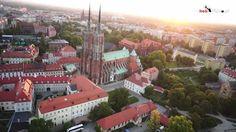 Spacer po Wrocławiu - Wrocław podczas EURO 2012 by HeliVideo.pl - ujęcia...