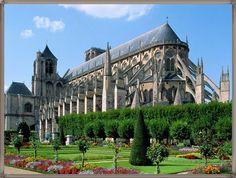 fransa katedrali vektör