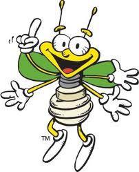 Louie the Lightening Bug - Dakota Electric's Mascot