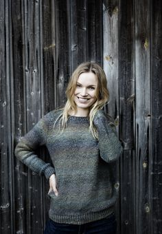 Nordic Yarns and Design since 1928 Hand Knitted Sweaters, Wool Sweaters, Knitting Sweaters, Knitting Patterns Free, Free Knitting, Knitting Ideas, Sweater Jacket, Knit Cardigan, Knitting Accessories