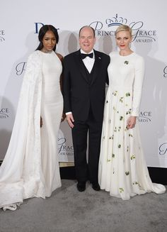 Queen Latifah, Naomi Campbell, and more came out for the annual Princess Grace Awards held in the most royal fashion.