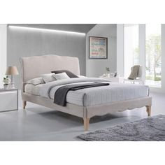 Found it at Wayfair - Dante French Upholstered Platform Bed
