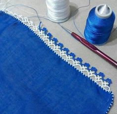 "Diy Crafts - ""pixels \""Crochet lace and trim\"", \""This post was discovered by HUZ\"""", ""This post was discovered by Emine Tokgoz. Crochet Boarders, Crochet Edging Patterns, Crochet Lace Edging, Crochet Trim, Crochet Stitches, Knit Crochet, Filet Crochet, Crochet Pixel, Beau Crochet"