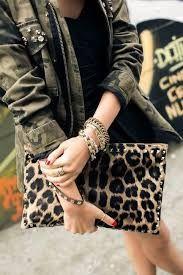 Leopard print bag #camojackets