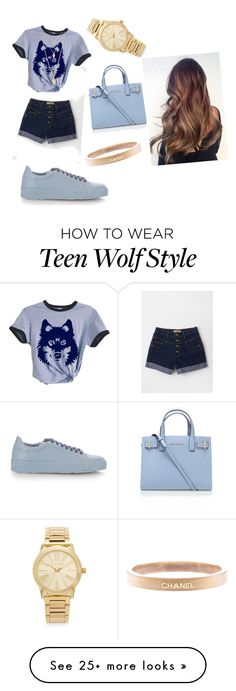 """""""teen wolf"""" by josesantacruzv on Polyvore featuring Jil Sander, Kurt Geiger, Forever 21, Michael Kors, Chanel, women's clothing, women, female, woman and misses"""