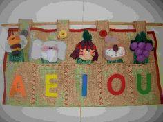 Titeres de letras Phonics Activities, Ideas Para, Classroom, Crafts, Hand Puppets, Fabric Toys, Cloth Art Dolls, Tutorials, Manualidades