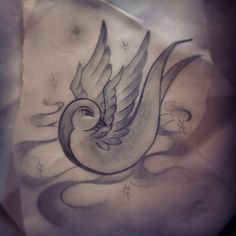 #sketches#designs#swallow#swirls#stars#bird#birdy#funky#newschool#tatt#pic#pics#shading#pencil#simplesketches#sinkininkcyprus#inktobe#wings#chunky