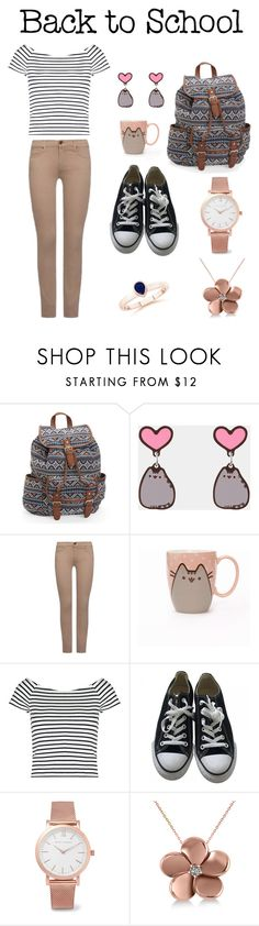 """""""#PVxPusheen"""" by hadzic-ramiza ❤ liked on Polyvore featuring Aéropostale, Pusheen, 7 For All Mankind, Lipsy, Converse, Larsson & Jennings, Allurez, contestentry and PVxPusheen"""