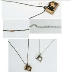 Cute Little Camera Shape Necklace only $0.99 Shipped