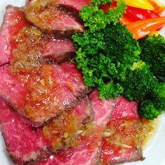 埋め込み Steak, Cooking Recipes, Japanese Food, Food Art, Twitter, Chef Recipes, Food Food, Cooking, Steaks