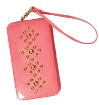 mark Call for Style Phone Case- When a handbag's just too bulky but you absolutely need the essential three Cs (cash, cards, cell, that is!), take this hard-bodied, faux-patent-leather case, toughened up with a smattering of gold tone studs. Regularly $24.00, buy Avon Mark online at http://eseagren.avonrepresentative.com