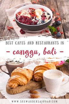 Here's a complete list about the 15 best cafes that you absolutely need to try if you're visiting Canggu in Bali! Not only all of these cafes serve delicious food but they are a perfect choice for vegetarians/vegans as well. #foodie #balifood #bali #shewandersabroad | Best cafes in Canggu, Bali | Canggu Foodie Guide | Where to eat in Canggu | Bali Food Guide | Best eats in Bali | Most instagrammable cafes in Bali | Must-try restaurants in Canggu | The Lawn Canggu | Instagram-worthy cafes in… Bali Travel Guide, Asia Travel, Canggu Bali, Vegan Restaurants, Cool Cafe, International Recipes, Foodie Travel, Landscape Photography, Portrait Photography