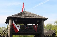 Tower on the vikings gate. #JHV #shields #fortress