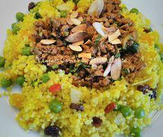 Viajar, Comer & Divertir-se: Couscous Marroquino com Passas, Damascos e Amêndoas