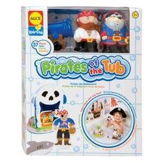 Alex Toys Pirates of The Tub --- http://www.amazon.com/Alex-Toys-Pirates-The-Tub/dp/B000O8MY52/?tag=mydietpost-20