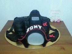 Tarta cámara Sony