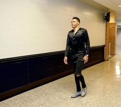 Russell Westbrook's #NBAStyle before Game 6 (8:30 ET, ESPN): on.nba.com/1Wt0CO9