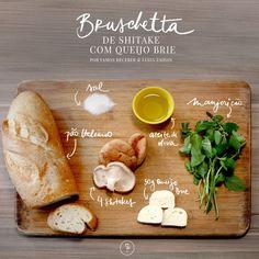 Sabe preparar uma bruschetta? Aprenda! (Foto: Karen Hofstetter / Divulgação)  http://casavogue.globo.com/LazerCultura/Comida-bebida/noticia/2014/09/sabe-preparar-uma-bruschetta-aprenda.html