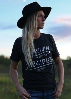 Grown On The Prairies Tee | Unisex and Ladies