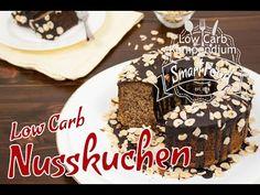 Saftiger Nusskuchen Low Carb, glutenfrei und ohne Zucker