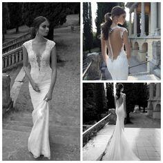 Vestido De Noiva 2014 Sexy Backless Wedding Dresses Mermaid Lace Unique Wedding Dresses 2014 Bridal Gown Vestido De Casamento