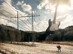 Surrealist Photographer Erik Johansson Bends Reality Without Photoshop | The Creators Project