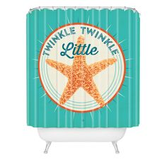 Anderson Design Group Twinkle Little Star Shower Curtain