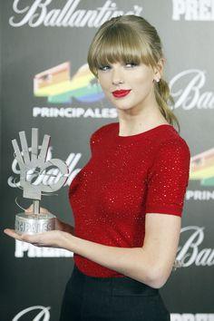 Taylor Swift Photos - Celebs at the Principales Awards 2 - Zimbio