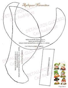 PIE DE ARBOL NAVIDEÑO APLIQUES NIEVES Map, Snowman, Barbie, Christmas, Ideas, Xmas, Feltro, Dress, Holiday Ornaments