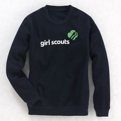 Girl Scout Shop - Adult Servicemark Sweatshirt on clearance $15.99