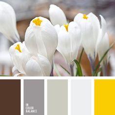 Палитра, желтый, белый, коричневый, Palette, yellow, white, brown