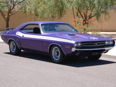 Ultra Rare Challenger RT 440-6 Pack (One of 246 Produced in 1971; One of 127 with 4spd). Numbers Matching 440ci 390hp 3-2BBL Magnum V8 with Pistol Grip 4 speed Transmission, and A34 Super Track Pak (9.75 DANA 60 w/4.10 Gears)