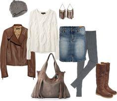 """Cozy Winter Outfit"" by jeniusjen on Polyvore"