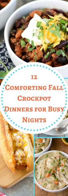 Cooking-Fall Crockpot Dinners- The Organized Mom