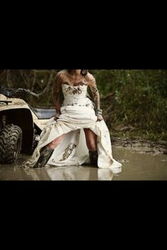 Country Bride! LOVE this!!!!