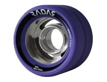 The Radar Devil Ray features a slotted hub which is the lightest aluminum hub available. Serious skaters prefer aluminum hubs because they dont flex, which allows the each finely tuned urethane tyre compound to perform exactly as it was d Roller Derby, Roller Skating, Speed Skates, Skate Wheels, Devil, Purple, Pink, Inline, Viola