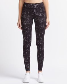 Shop online for Hyba Printed Fast Track Legging. Find Bottoms, Hyba Activewear, Sale and more at Reitmans Women's Leggings, Active Wear, Prints, Track, Clothes, Shopping, Workout, Fashion, Supersonic Speed