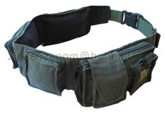 Army Combat Utility Belt Retro Cargo Travel Bum Bag | eBay