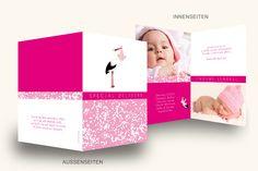 Babykarten online personalisieren und bestellen.