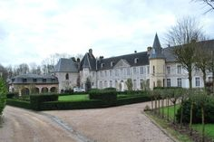 Luxury Castle in Pont-Audemer, France. MILLION Normandie, from Deauville, castle dating from the and the century - ISMH classified - and its 90 acres hunting estate. Us Real Estate, Real Estate Agency, Luxury Real Estate, Luxury Property For Sale, Indoor Swimming Pools, Group Of Companies, Throughout The World, Acre, Mansions