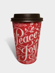 Second Cup Holiday Cups by Cory Say, via Behance