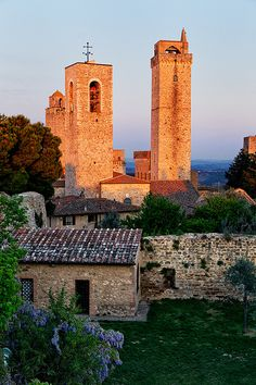 Italy - San Gimignano: The Watch Towers,province of Siena Tuscany