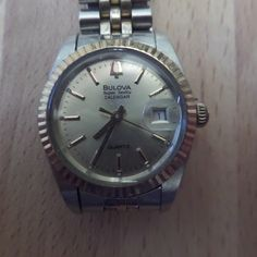 Your place to buy and sell all things handmade Solar Watch, Bulova Watches, Hard Wear, Seville, Quartz Watch, Retro Vintage, Unique Gifts, At Least, Birthdays