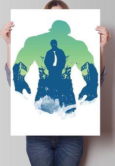 Fancy - Hulk Avengers Print